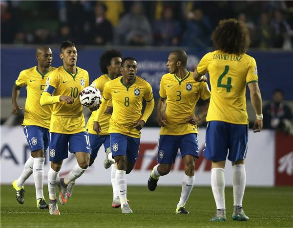 البرازيل، نظيره البيروفي