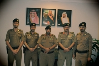البقمي يقلد 3 ضباط رتبهم الجديدة