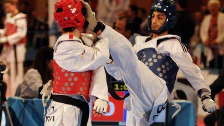 البلجيكي مراد عشراوي فاز بلقب بطل أوروبا في التايكوندو