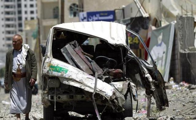 التحالف-يدمر-مواقع-الحوثيين