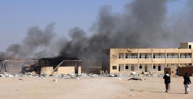 التحالف-يقصف-الحوثيين