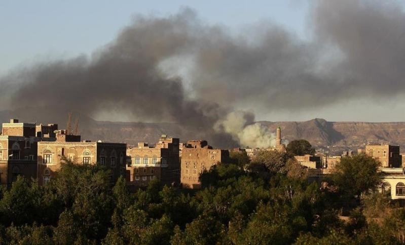 التحالف-يقصف-حوثيين