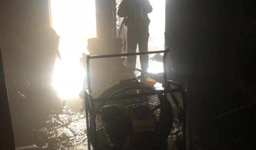 بالصور.. التماس كهربائي يُخلي 41 شخصًا في الطائف