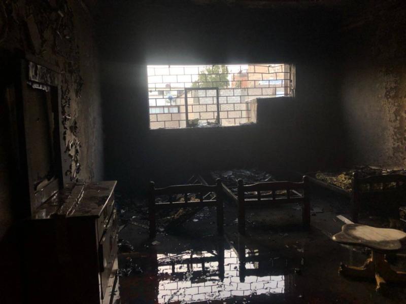 بالصور.. التماس كهربائي يُخلي 41 شخصًا في الطائف - المواطن