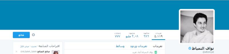 الجابر والقحطاني أكثر الرياضيين السعوديين متابعة على تويتر (93539256) 