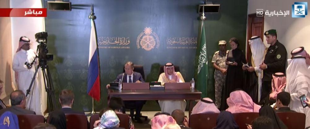 الجبير: المملكة وروسيا حريصتان على التنسيق في مواجهة الإرهاب