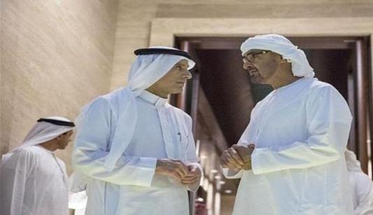 الجبير-ومحمد-بن-زايد