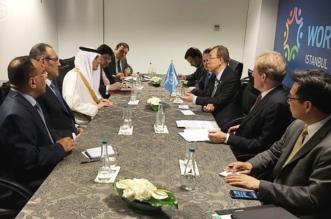 الجبير يبحث مع بان كي مون أوجه التعاون بين المملكة والأمم المتحدة - المواطن
