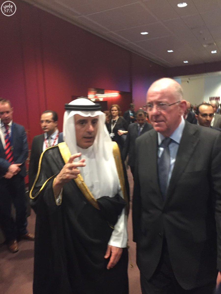 الجبير يبحث مع وزراء خارجية فرنسا وبلجيكا وإيرلندا  (2)