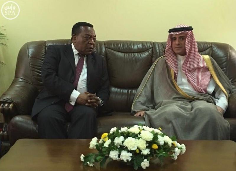 الجبير يستقبل جون ماقوفولي رئيس جمهورية تنزانيا