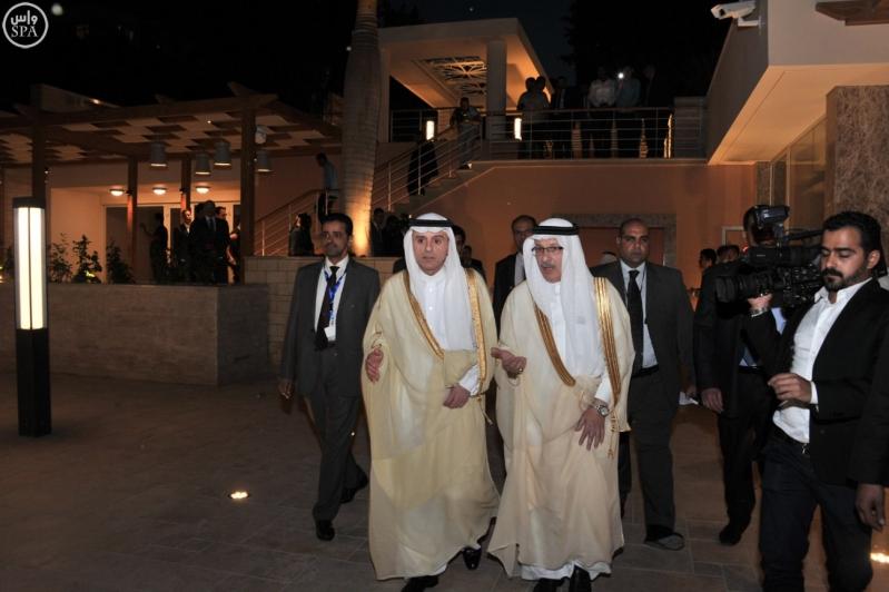 الجبير يفتتح النادي الدبلوماسي2