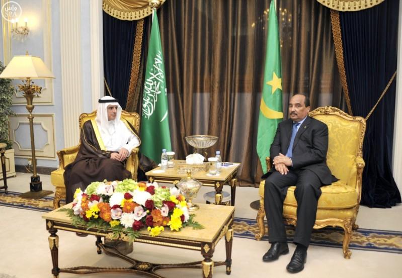 الجبير-يلتقي-الرئيس-الموريتاني (2)