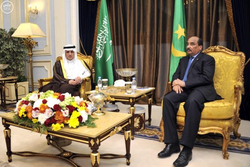 الجبير-يلتقي-الرئيس-الموريتاني