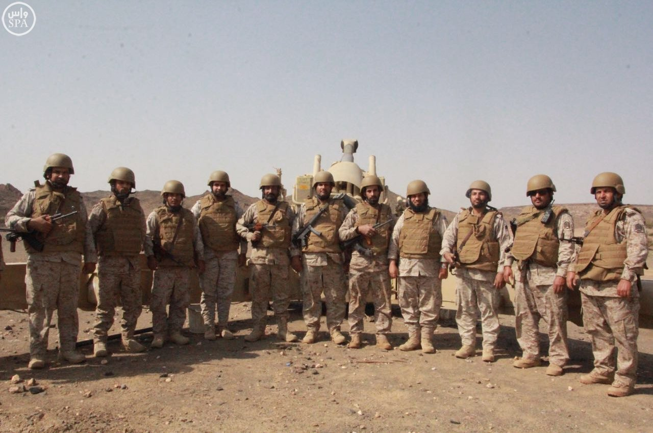 الجنود البواسل يسطرون ملاحم بطولية مشرفة في الحد الجنوبي بنجران (1)