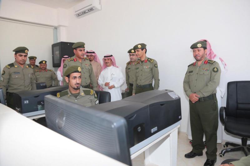 : الجوازات تفتح شعبة الخدمات الالكترونية بروشن مول بمحافظة الخرج 3