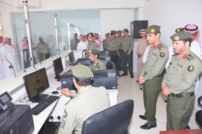 : الجوازات تفتح شعبة الخدمات الالكترونية بروشن مول بمحافظة الخرج 4