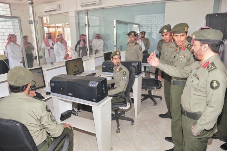 : الجوازات تفتح شعبة الخدمات الالكترونية بروشن مول بمحافظة الخرج 8