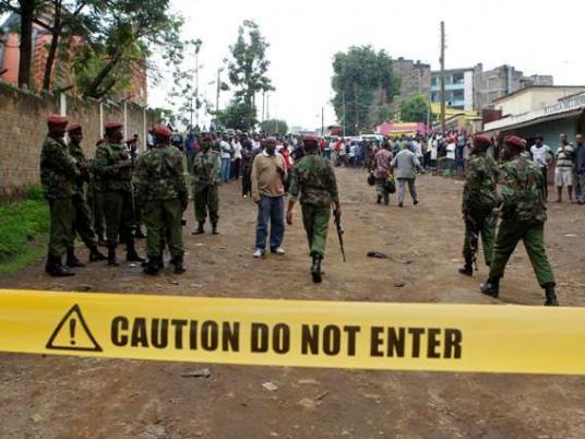 الجيش الكيني