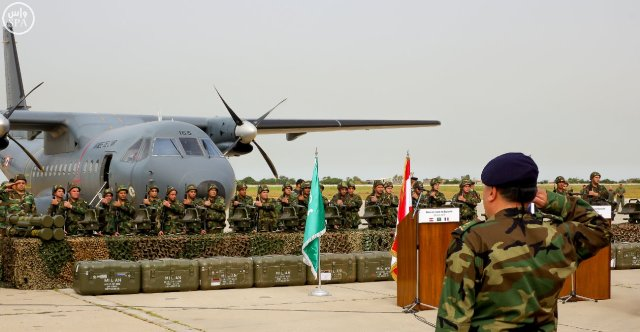 شاهد بالصور .. الجيش اللبناني يتسلم الدفعة الأولى من الأسلحة الفرنسية في إطار الدعم السعودي