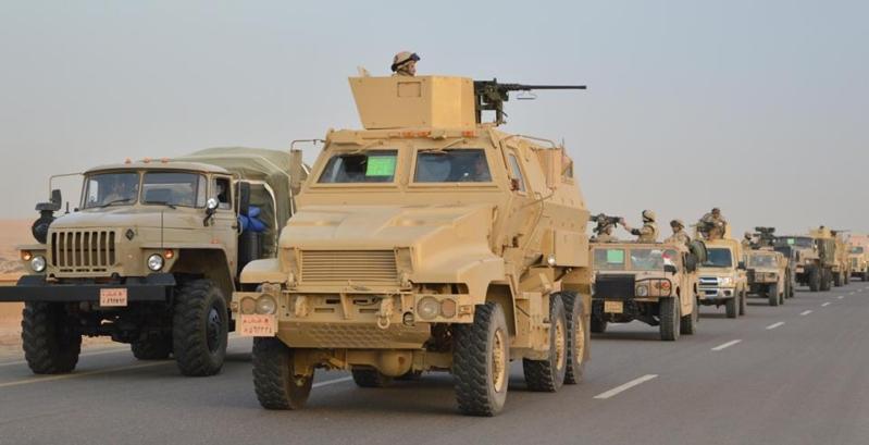 الأمن المصري يحبط هجومًا على 3 حواجز أمنية في العريش