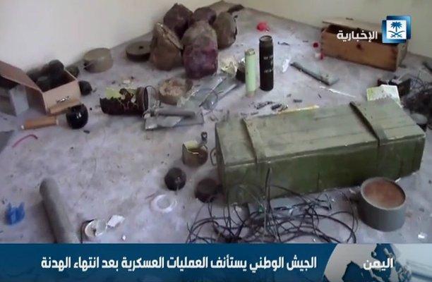 شاهد.. الجيش اليمني يستأنف عملياته بعد انتهاء الهدنة