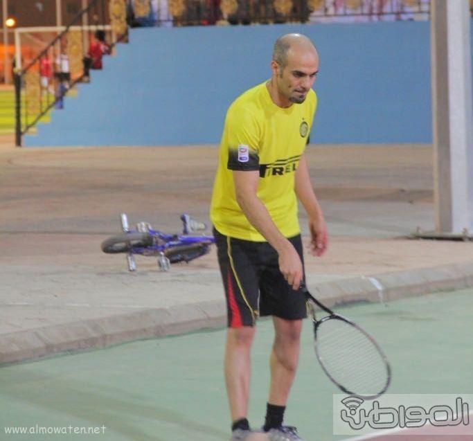 الحجاج والشهاب لنهائي التنس الأرضي بالأضارع (2)