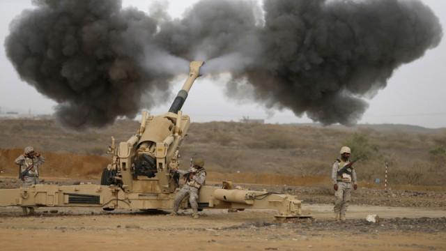 شاهد لقطات من الحدود السعودية اليمنية