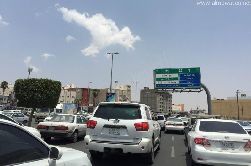 الحركة-المرورية-بشوارع-الطائف (11)