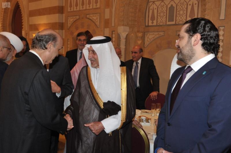 الحريري يستقبل خالد الفيصل (1)
