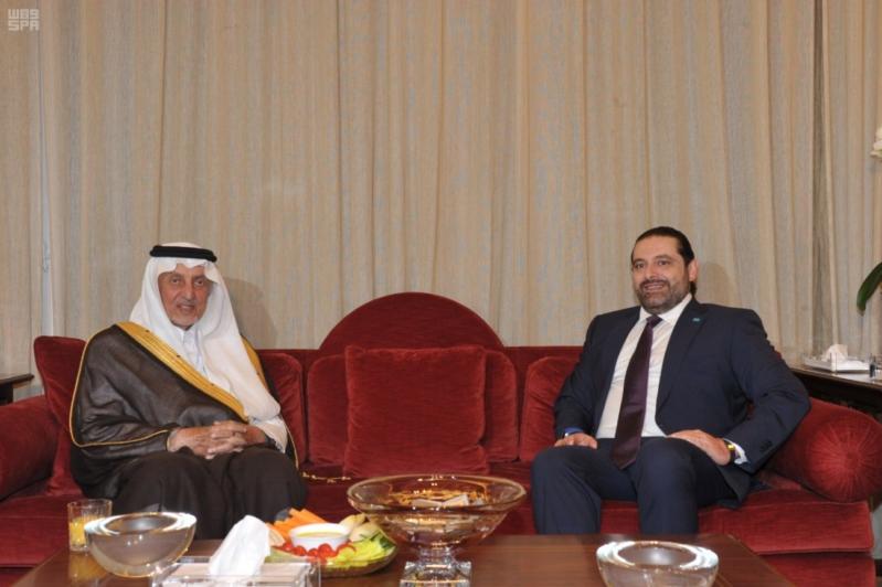 الحريري يستقبل خالد الفيصل (3)