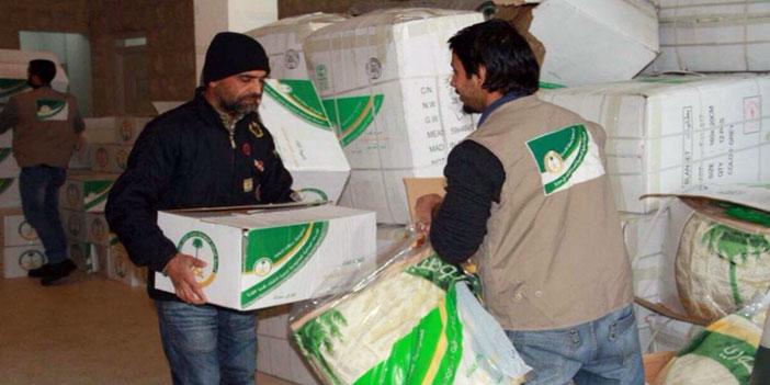 الحملة الوطنية السعودية اغاثة سوريا
