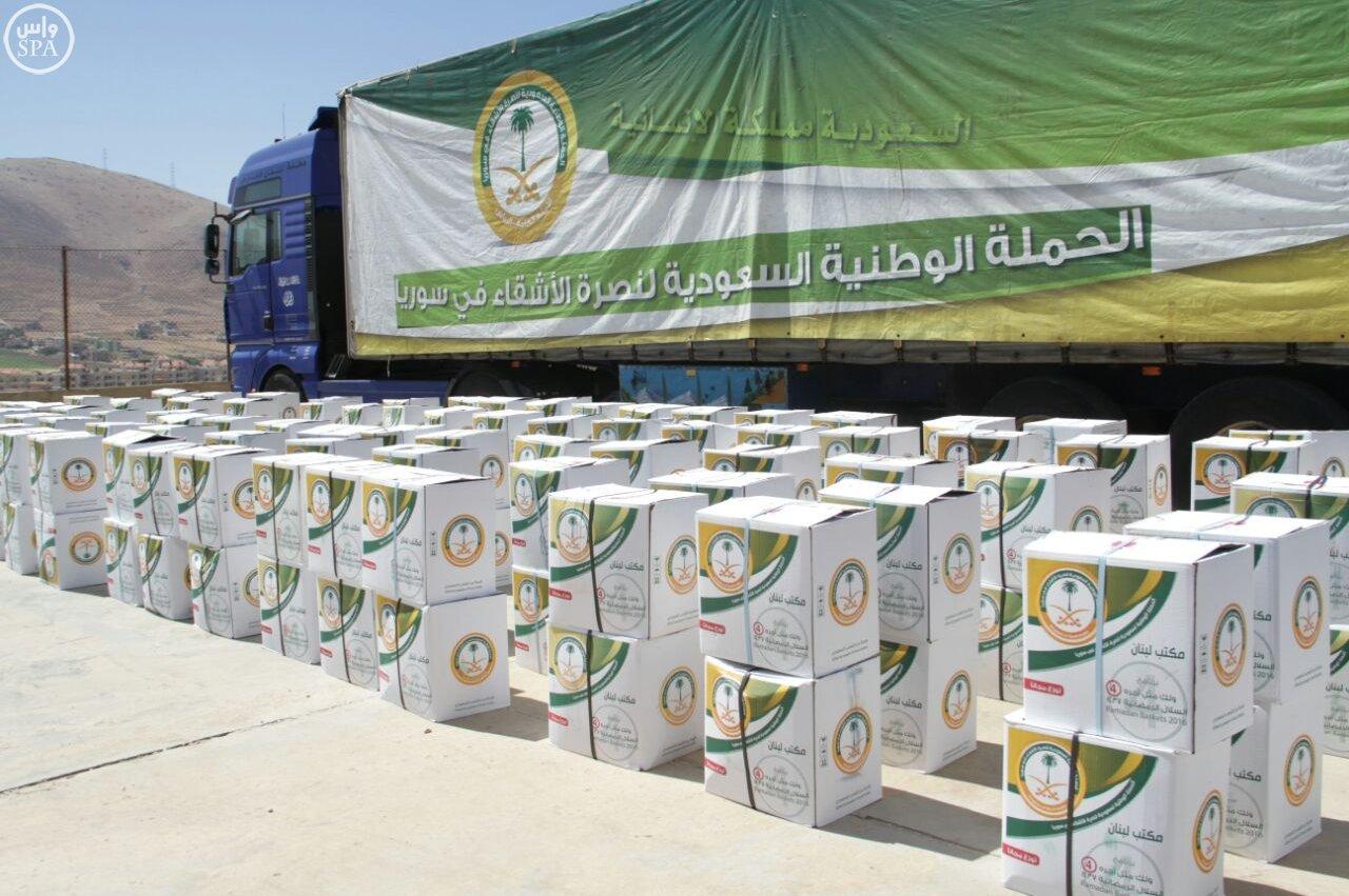 الحملة الوطنية توزع 24 ألف وجبة إفطار على اللاجئين السوريين (2)