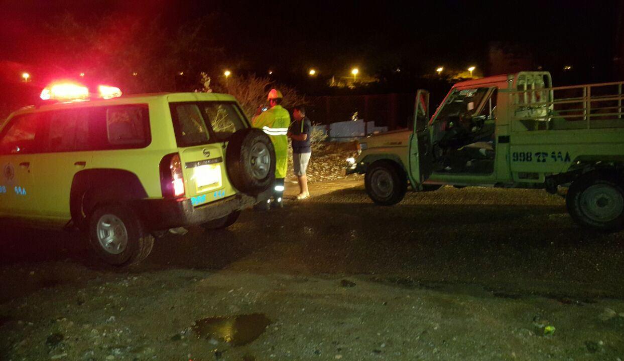 الحوادث المصاحبة لامطار عسير (4)