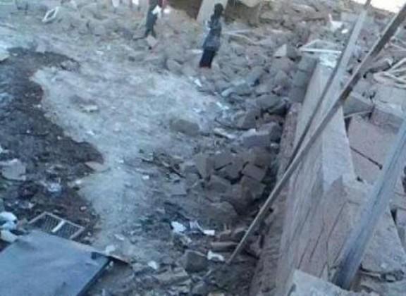 الحوثيون يفجرون دارا لتحفيظ القرآن في أرحب