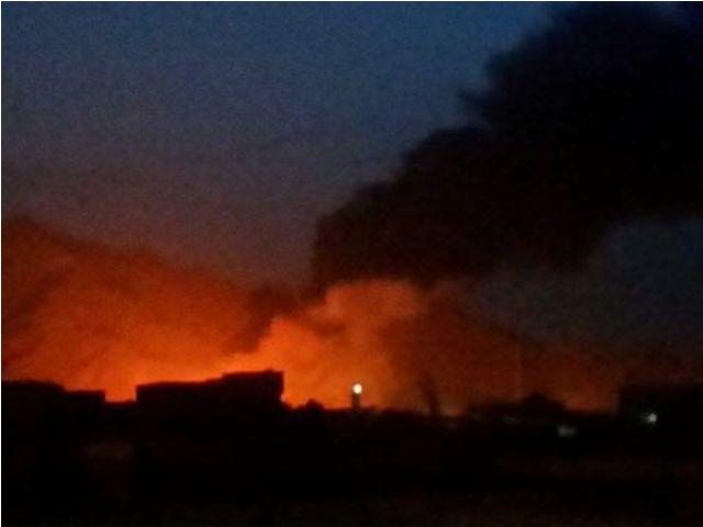 الحوثيين-يقصفون-مصفاة-عدن (3)