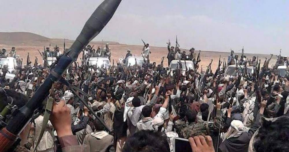 المقاومة في البيضاء اليمنية تفجر دبابة للميليشيا وتقتل طاقمها