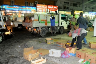بالصور.. مصادرة أكثر من 3500 كرتون خضار خلال محرم بالخبر - المواطن