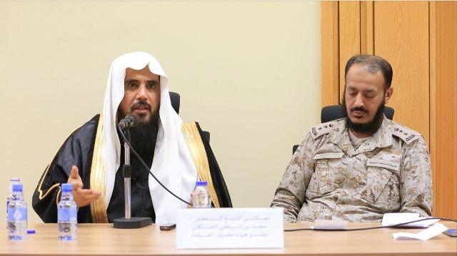الخثلان في زيارته لوزارة #الدفاع  أنتم على ثغر لحماية الإسلام (1)