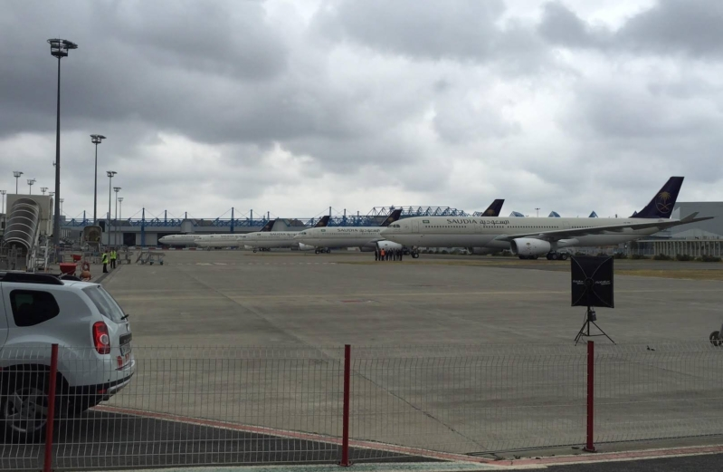 الخطوط السعودية تتسلم رسمياً طائرتها الاولى A330 الإقليمية كاول مشغل لها في العالم (1)