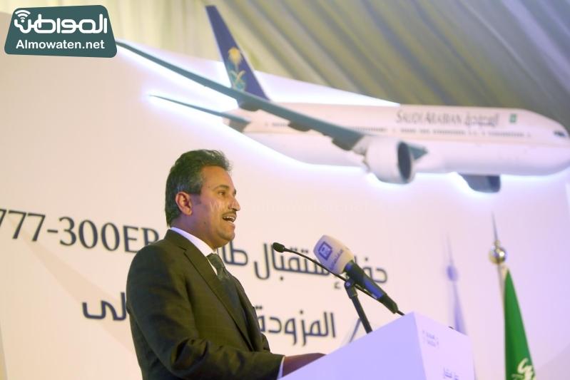 الخطوط السعودية تستقبل طائرة بوينج (34865671) 