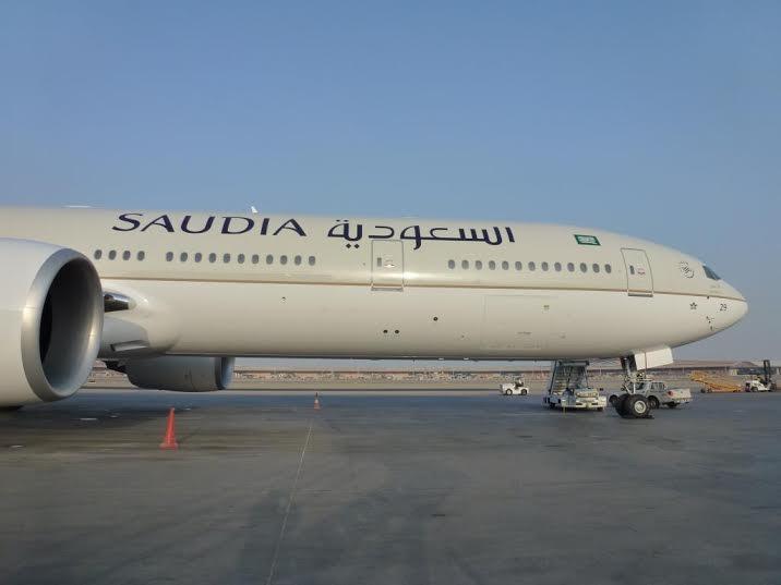 الخطوط السعودية تستلم طائرتين عريضتي البدن من طراز بوينج