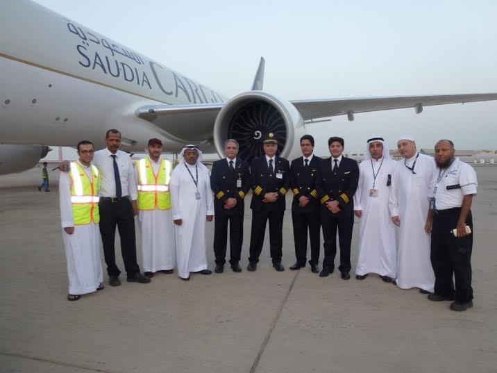 الخطوط السعودية تستلم طائرتين عريضتي البدن من طراز بوينج10