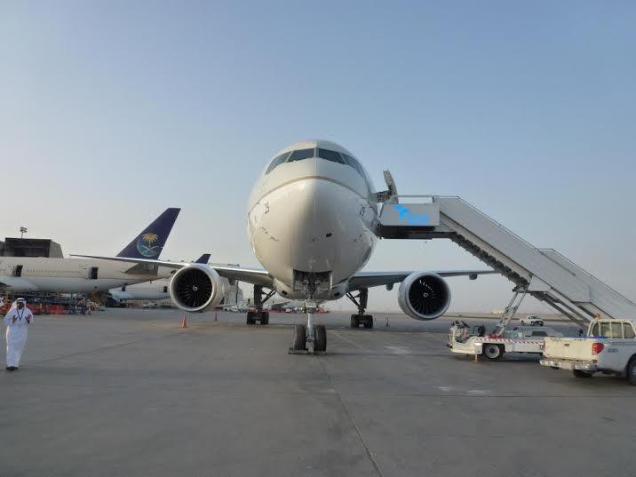 الخطوط السعودية تستلم طائرتين عريضتي البدن من طراز بوينج2