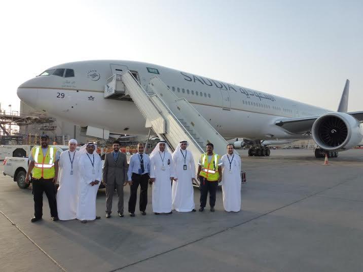 الخطوط السعودية تستلم طائرتين عريضتي البدن من طراز بوينج3