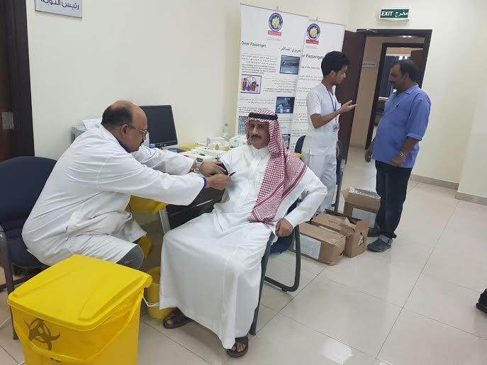 """حملة """"الخطوط """" للتبرُع بالدم في نجران لصالح مُصابي المرابطين"""
