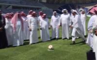 #تيوب_المواطن : تنافس بين وزير التعليم و مدير جامعة الملك سعود في تسديد ضربات الجزاء