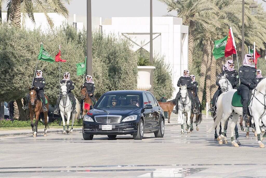 الخويا والخيول تعجب الرئيس الصيني (3)