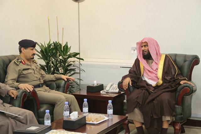 الدفاع المدني يرحب بافتتاح حلقات تحفيظ لمنسوبيه بالتعاون مع تحفيظ الرياض (1)