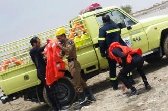 إنقاذ مسنين من الموت غرقًا بوادي السديرة في #الطائف - المواطن
