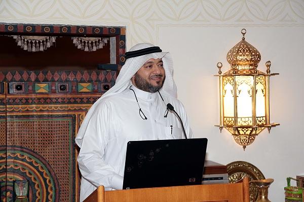 الدكتور الحبشي خلال اللقاء